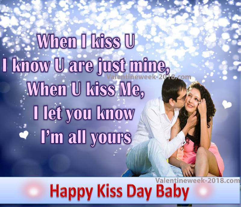 Kiss quotes for girlfriend