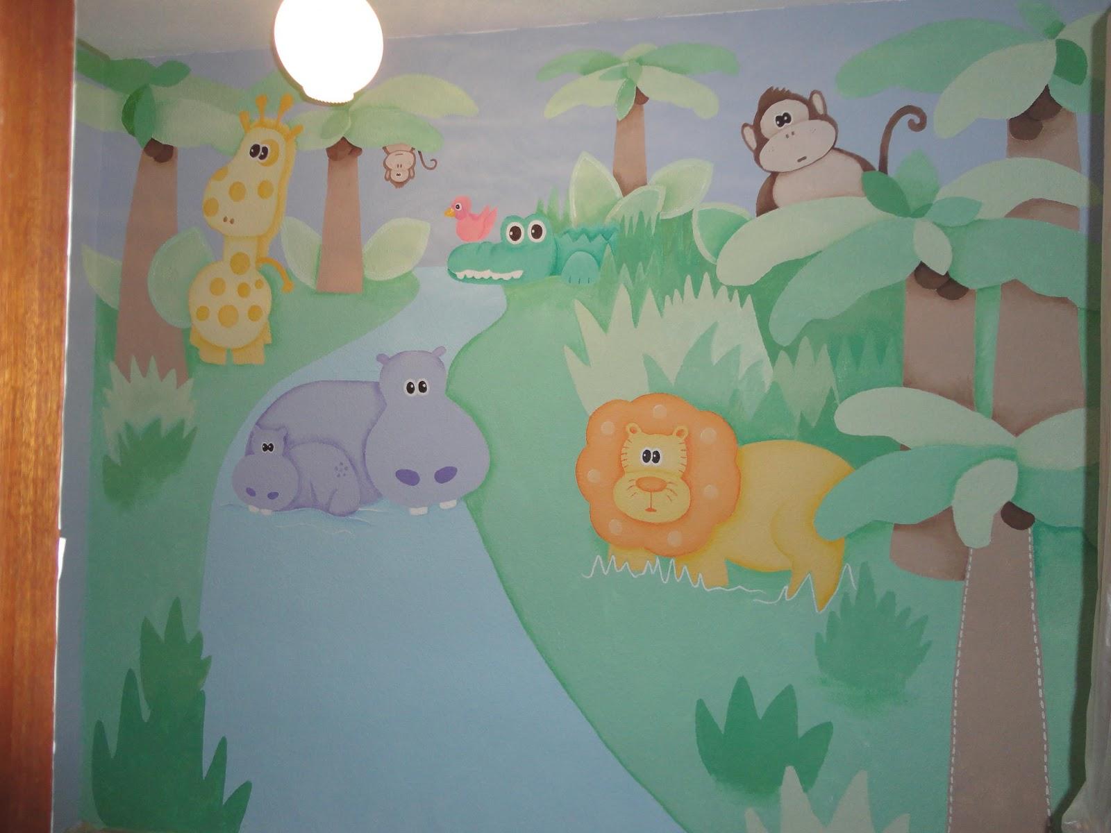 murales infantiles pintados en paredes
