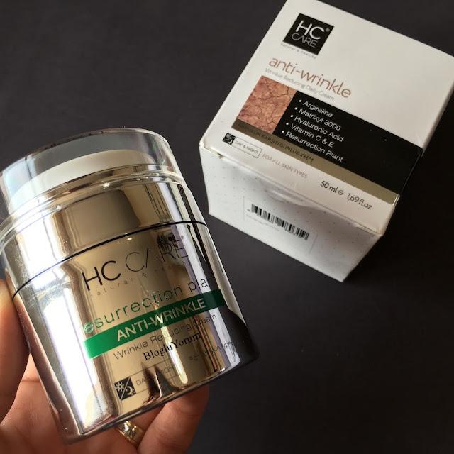 HC anti wrinkle krem kırışıklık karşıtı bakım kremi