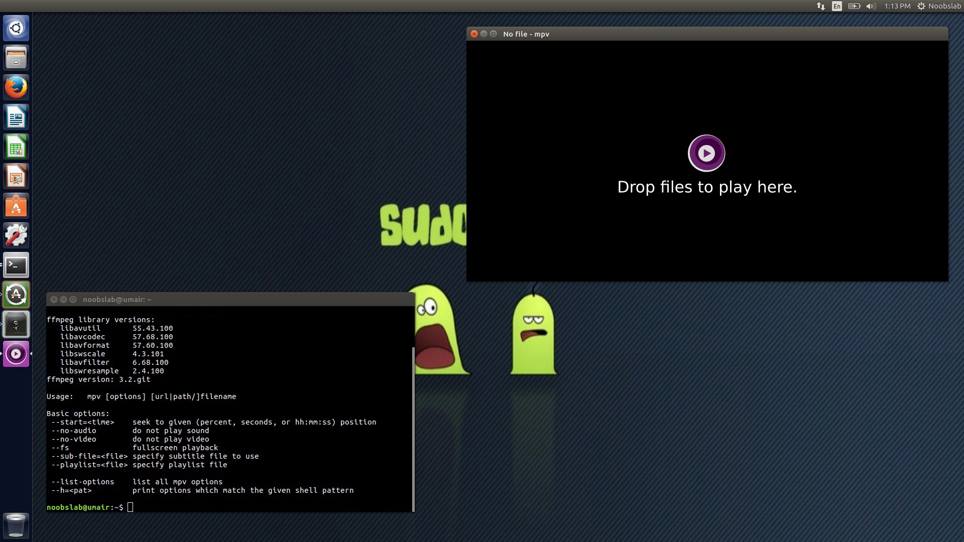 MPV: An Open-Source Mplayer Based Video Player for Ubuntu