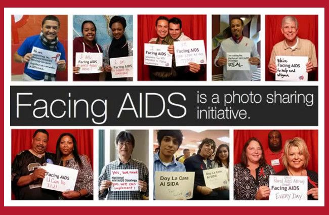 Facing Aids is a photo sharing application for Apple devices