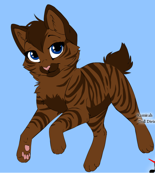 Warrior Cats Dead: Warrior Cats Rpg: Halftail (Female) (Daughter Of Scar And