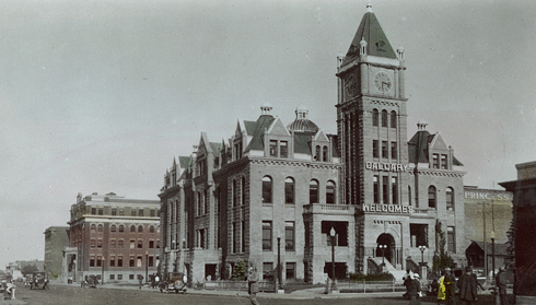 historic city hall calgary alberta archival