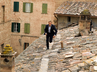A Still from Quantum of Solace, daniel craig