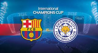 البث المباشر لمباراة برشلونة و ليستر سيتي 03 08 2016