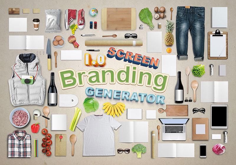 Branding Screen Generator