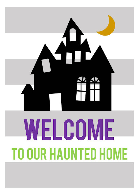 "6 Simple Ways to ""Halloween-ify"" Your Home {plus a FREE printable}"