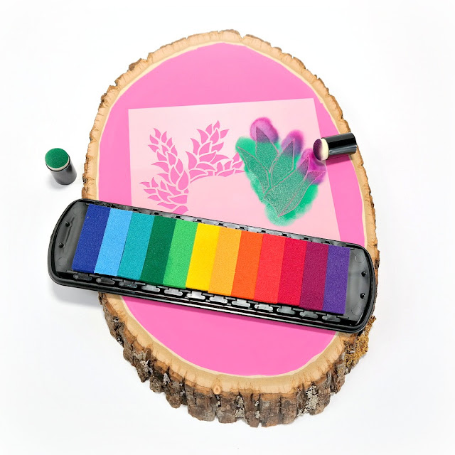 How-to-Apply-Pigment-Ink-Over-A-ColorBox-Terrarium-Art-Screens-Trio