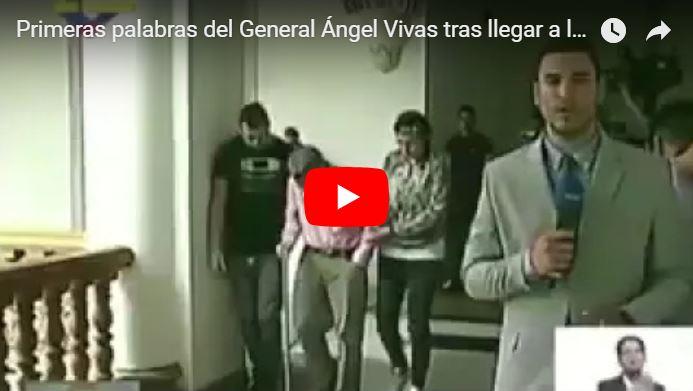 Ángel Vivas se muestra como el único valiente al ser liberado del secuestro