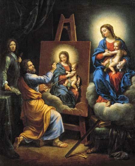 Saint Lucas Calendrier.Les Tupins De Montbrison Saint Luc Saint Patron Des Peintres