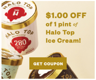 image relating to Halo Top Printable Coupon titled Embody Excess Light-weight: $1 Coupon Halo Ultimate Ice Product -Lower Carb
