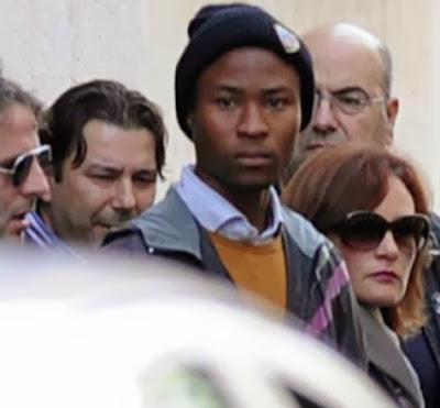 nigerian boy killed italian woman