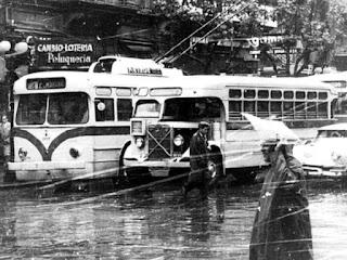 Lluvia alrededor año 1960