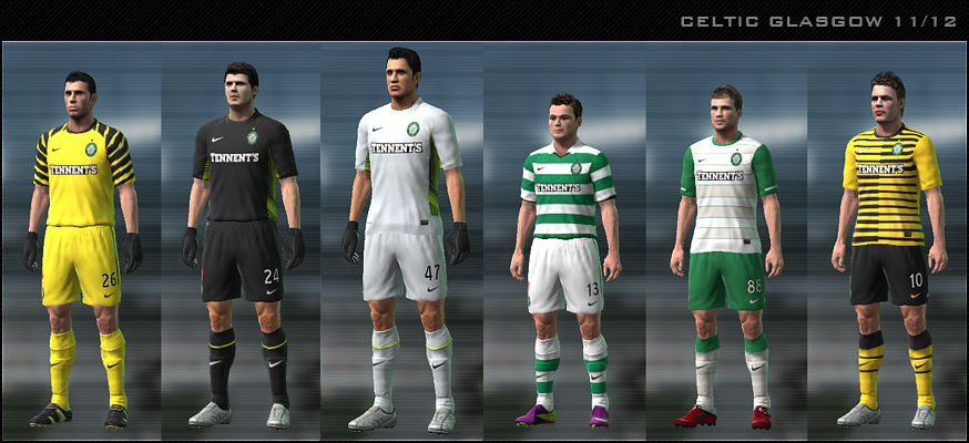 Celtic 11/12 Kit Set by Dark Nero
