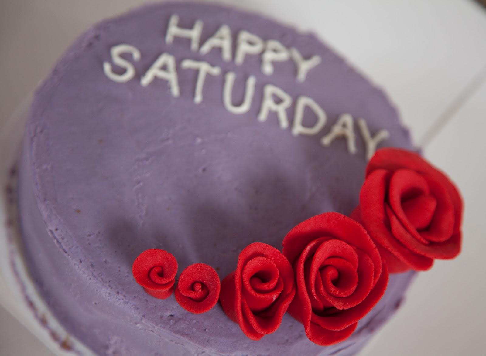 Edible Legacy: Happy Saturday