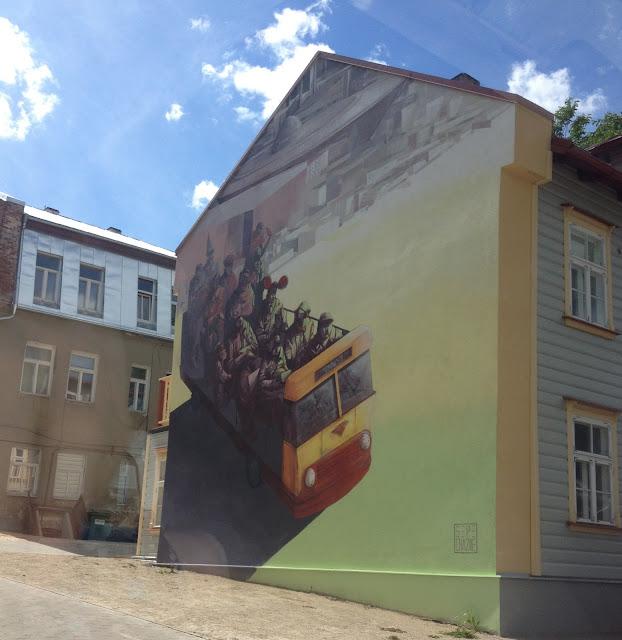 Tartto muraali, street art