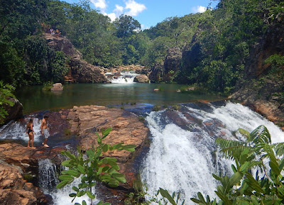 Chapada dos Veadeiros - Cachoeiras Macaquinhos