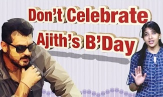 Don't Celebrate Ajith Birthday | Ajith Haters