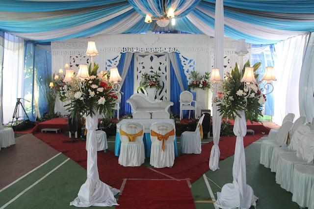 dekorasi tenda dan pelaminan di