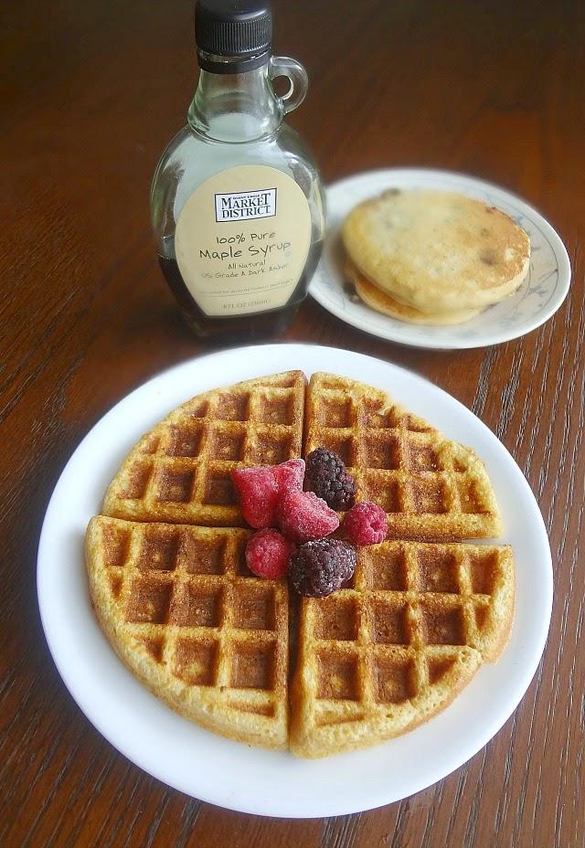 Multigrain Waffles/Pancakes