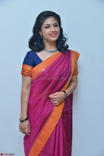 Supriya in Pink Saree Spicy Pics 030.JPG