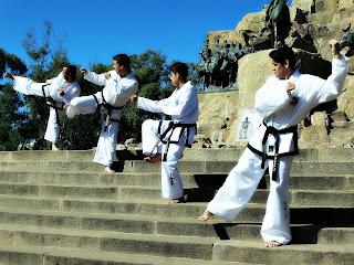 Equipe de Taekwondo, Parque General San Martín, Mendoza