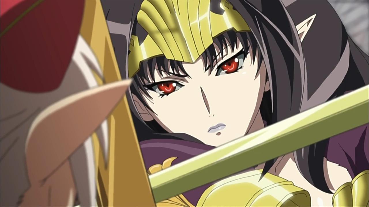 [Ecchi HD] Queen's blade Rebellion 12/12 720p - Identi