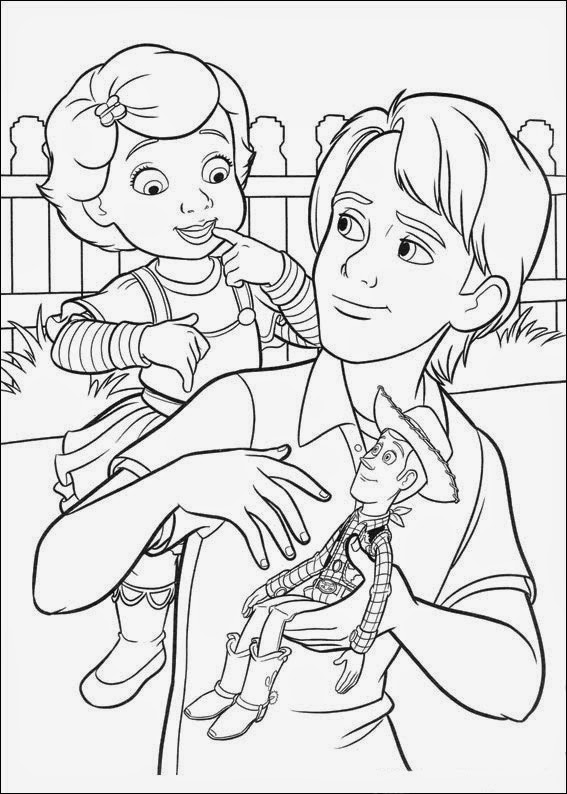 Coloring Pages: Toy Story free printable coloring pages