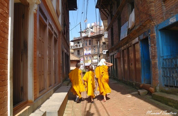 Bhaktapur, nei pressi del Sakyamuni