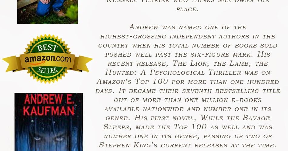 Author Joseph M. Demakis  Author Spotlight Andrew E. Kaufman 1b8ba893b