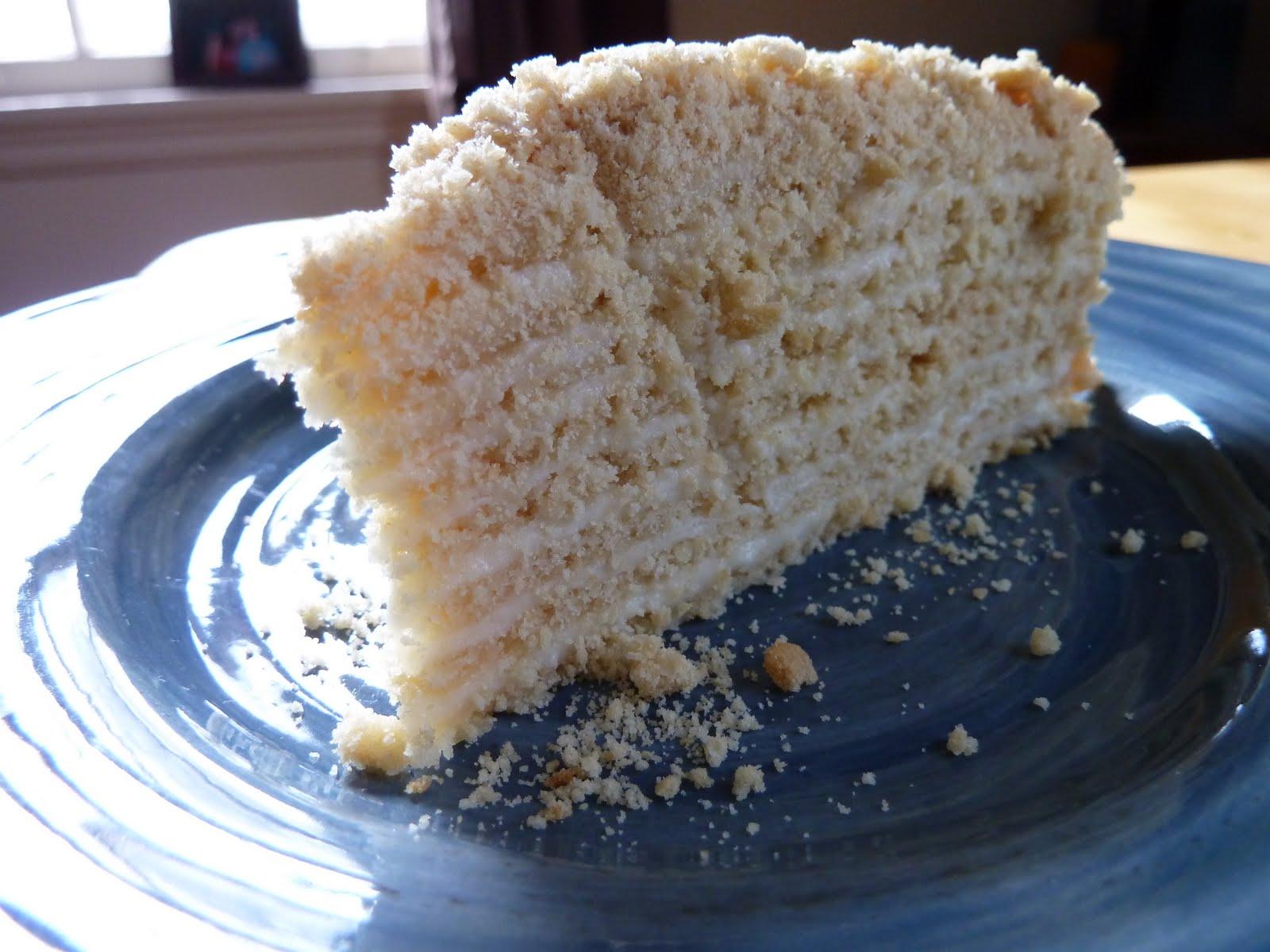 Urban Farmgirl Russian Honey Layer Cake