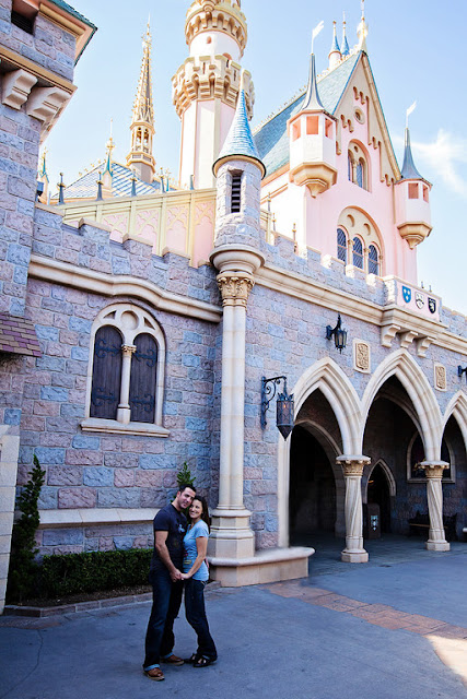 Disneyland Engagement Shoot {White Rabbit Photo Boutique}