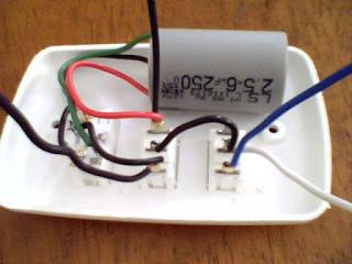 Como ligar ventilador de teto com lampada em paralelo(TRIWAY)