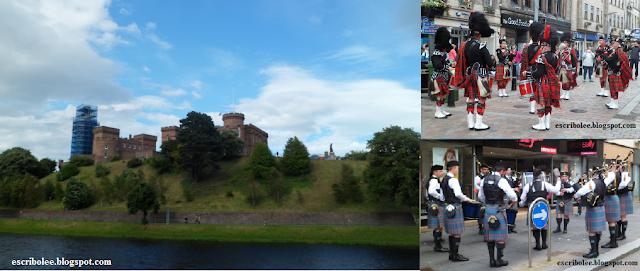 Viaje a Escocia: día 4 Castillo de Inverness y grupos de gaiteros