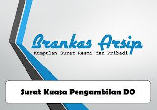 logo contoh surat kuasa pengambilan DO
