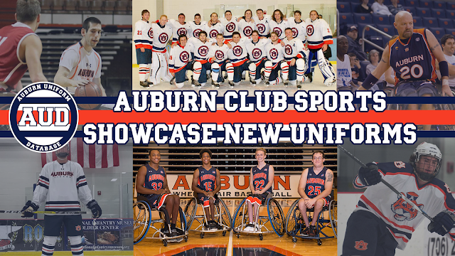 auburn uniforms club sports basketball hockey