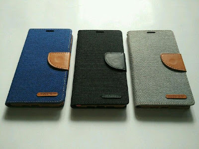 Flipcase Canvas Wallet Xiaomi Redmi Note 4x