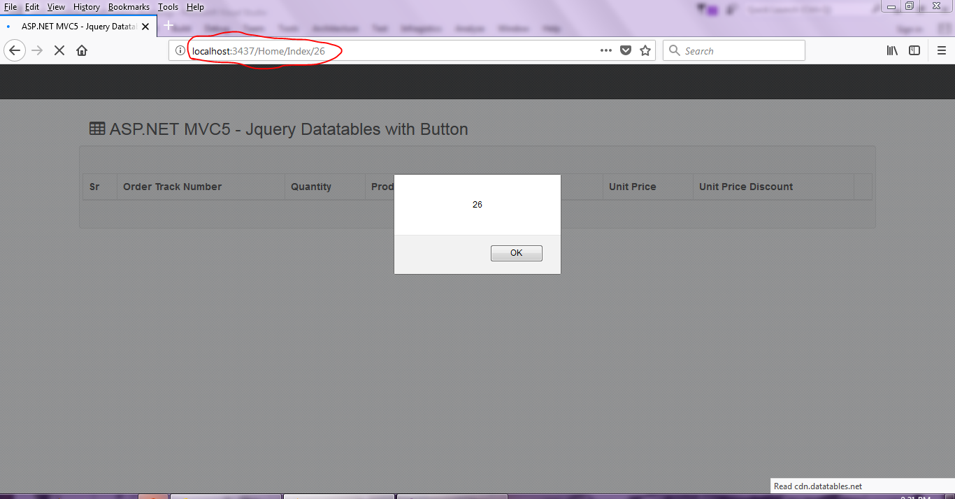 ASP NET MVC5: Buttons in Datatables Jquery plugin - Asma's Blog
