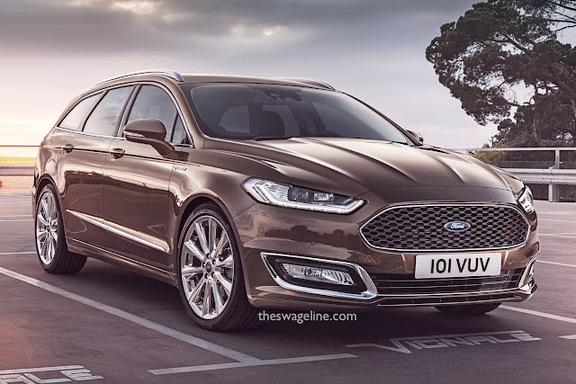 Ford Mondeo with new badge location
