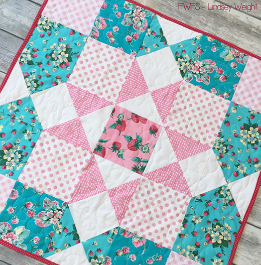 Berry Bouquet Table Topper Free Pattern