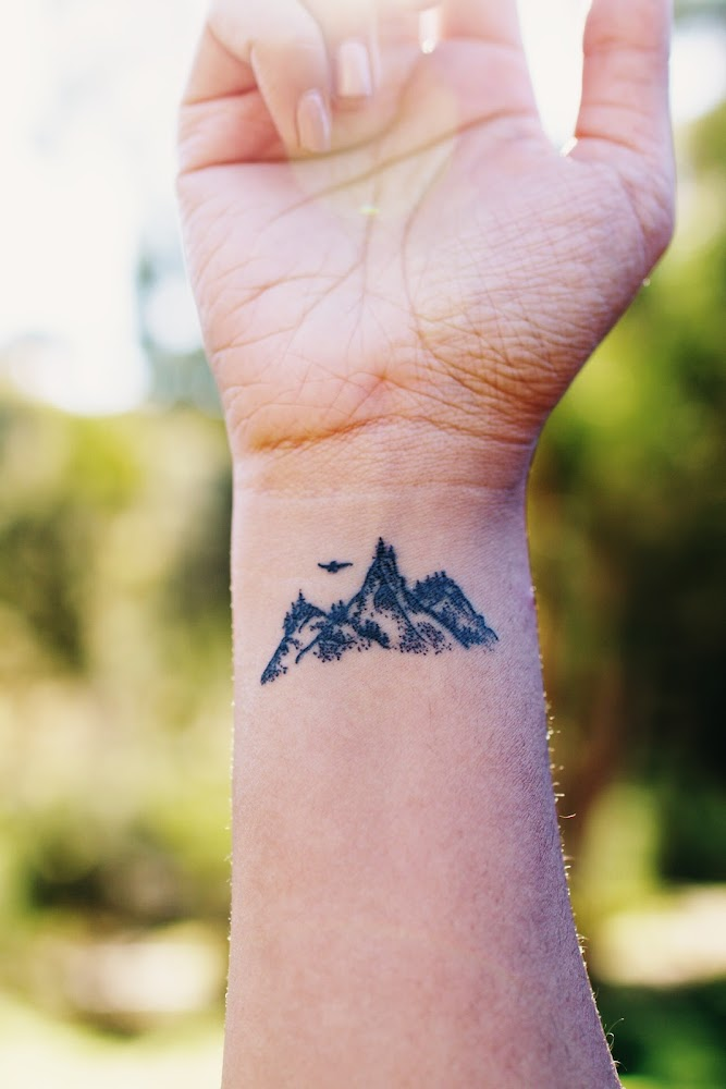Tattoo Mountains Nature Ink