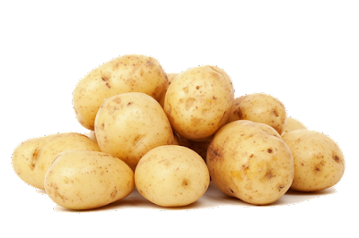 pile of potatoes - don't waste them