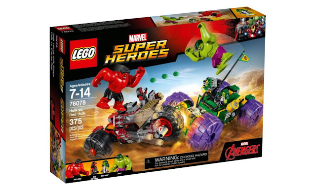 Amazon Deals: LEGO 76067 Hulk vs Red Hulk is 25% OFF