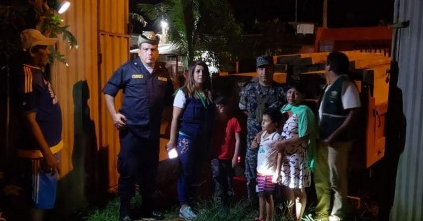 Escuela de Puerto Maldonado recibe donación de madera incautada