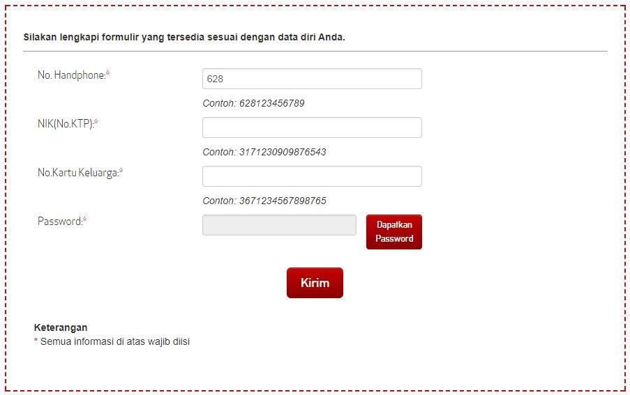 CARA DAFTAR KARTU PERDANA ATAU SIMCARD Lewat Web Via Online Telkomsel Indosat XL Tri Smartfren