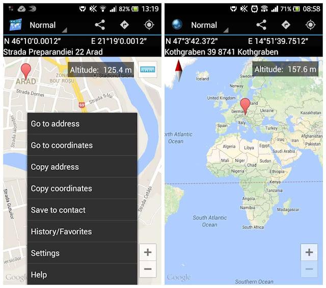 Map Coordinates Pro APK FREE