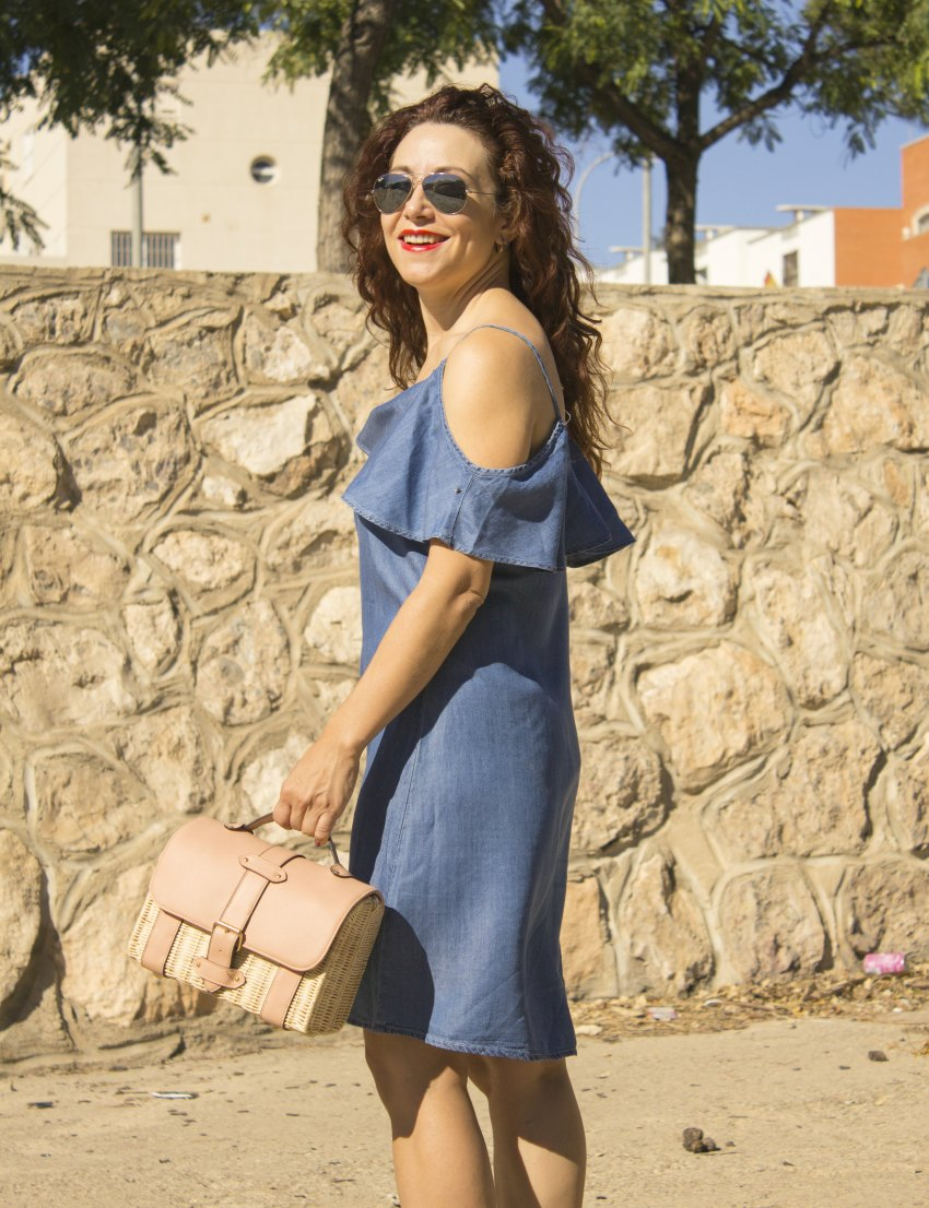 sammydress_denim_offshoulder_dress_melange_boutique_fashion_blog_de_moda_zapatos_blucher_zalando_rayban_5