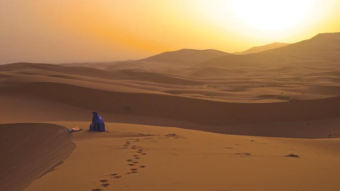 Wallpaper: Sahara Desert