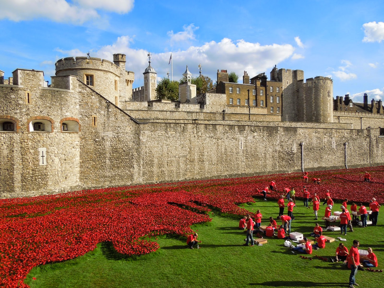 Tower of London poppy memorial