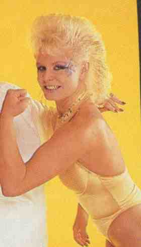Tiffany Mellon Born Sandra Margot Competed For Glow 1988 1989 Becoming A Porn Star In 1992 Changing Her Name To Tiffany Million